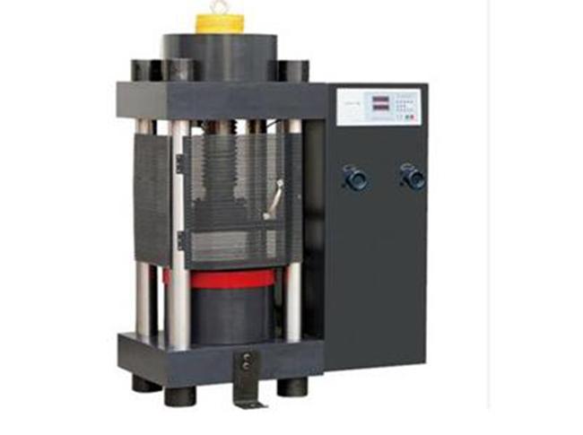 河北數顯式壓力試驗機YES-2000(電動絲杠)